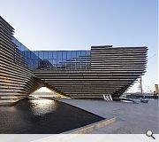 V&A Dundee (£80.1 m) Kengo Kuma & Associates with PiM.studio Architects and James F Stephen Architects for Dundee City Council. Image by Hufton + Crow