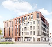 Student accommodation is viewed as the most suitable end use for the building, following facade retention work