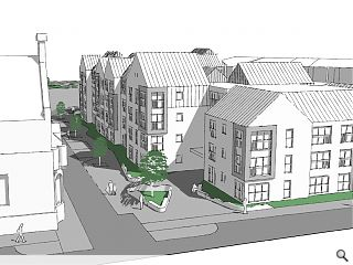 60 town centre Alloa flats tabled in affordable housing drive