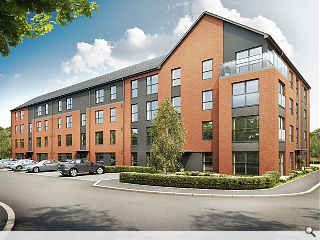 Barratt Homes push Renfrew riverside residential