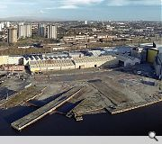 The Scotstoun yard as it exists currently