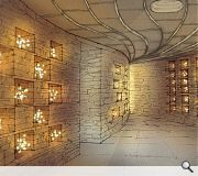 400 niches, each with capacity for 6 urns, will be housed within a 'columbarium'