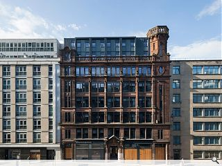Former Glasgow tobacco warehouse welcomes first student tenants