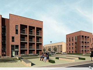 Plans submitted for second wave of Laurieston homes