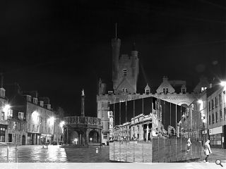 Aberdeen's Castlegate to welcome temporary mirrored pavilion