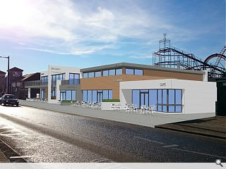 Developer counters 'Carbuncle' tag with Aberdeen Beach restaurant plan