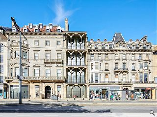 Arched arcade to define Princes Street hotel