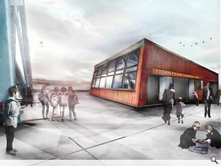 Work starts on Titan crane interpretation centre