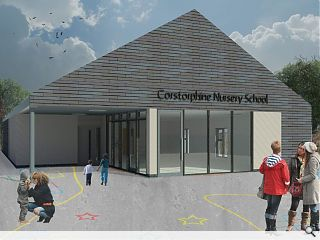 Anderson Bell + Christie draw up plans for Corstorphine Primary nursery