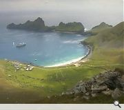 St Kilda lies 41 miles west of Benbecula in the Outer Hebrides