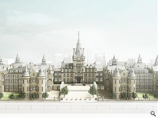 Forward thinking sees University of Edinburgh research institute clear planning