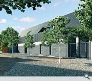 New build homes will be finished in a palette of zinc and timber