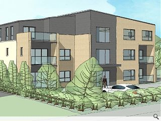 Downsizers courted by Thorntonhall development