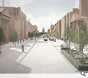 New paving and planting will be introduced to complete the transformation
