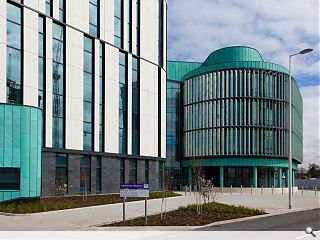 UK's largest clinical laboratory completed in Glasgow