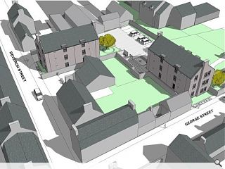 Aberdeenshire Council have prepared plans for the creation of Huntly homes