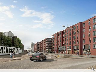 Delivery gets underway of 97 affordable Leith homes
