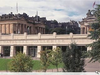 National Galleries Scotland discuss Princes Street Gardens expansion