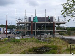 BRE visitor centre nears completion
