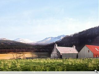 Cairngorms farmhouse restoration and extension wins planning
