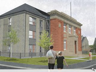 B-listed inter war school fronts new Govan homes