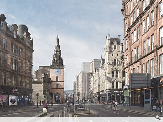 Candleriggs Square reshaped as citadel-style masterplan