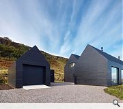 House at colbost, Skye, by Dualchas