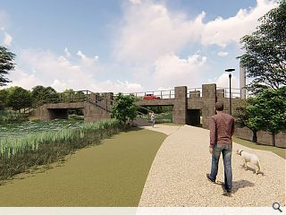 Developer sweetens housing vision with 'country park' aspiration