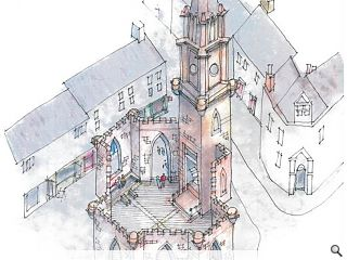 At risk Perth church to form new public space