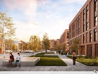 CALA move on-site with Pacific Quay media city homes