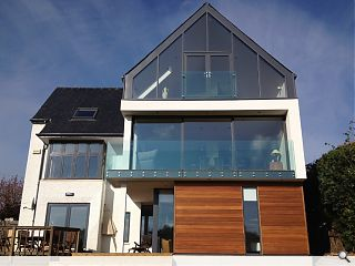 Bearsden home extension completes