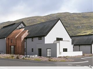 Isle of Harris distillery breaks ground