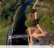 The £6m Claypits nature reserve takes its name from the extraction of clays to line the canal