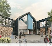 Dumfries Lnorth west campus shares a design template with Dalbeattie Learning Campus