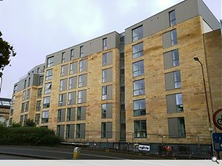 Potterrow student housing and rehearsal space nears completion