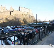 Motorists won't have far to travel to see Edinburgh's newest attraction