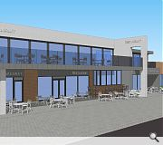 Heated outdoor seating areas will be provided