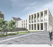 It is hoped the project will help to revitalise Dumbarton town centre
