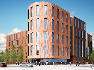 Construction begins on latest Glasgow student build