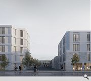 Complementary student residential and assisted living accommodation will front Niddrie Mains Road