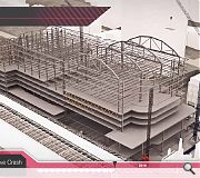 In addition to depicting the finished article Soluis can also visualise the construction schedule
