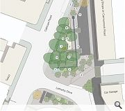 Opinions are sought on the material finishes and configuration of street furniture, planting and access
