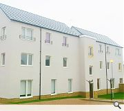 The homes have been delivered in partnership with East renfrewshire Council