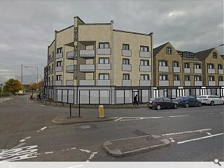 Airdrie turns a corner with prominent junction flats