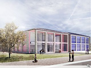 Colourful 'castle' school breaks ground in Inverness