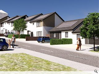 Energy-efficient off-site homes to transform Dundee's Hilltown