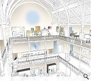 Exhibition space will be increased by up to 40 per cent