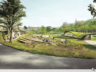 GRAS and wHY win £25m West Princes Street Gardens competition