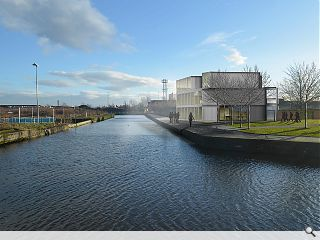 Dundashill canal quarter gets down to business