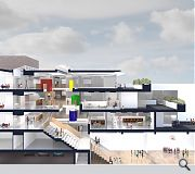 Site constraints dictaed a multi-storey solution